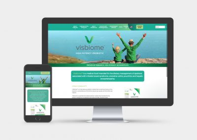 Visbiome Website