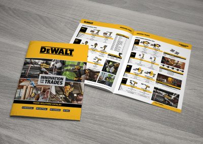 DeWalt Innovation for the Trades Catalog