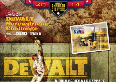 DeWalt Thrill of Victory Poster