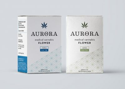 Aurora Cannabis Packaging