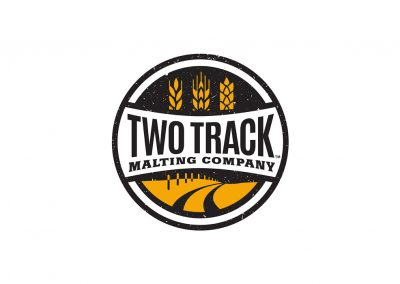 Two Track Malting Co. Logo
